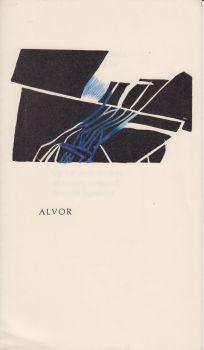 WAARSENBURG, HANS VAN DE - Alvor. (Gedicht met een ingekleurde linosnede door Riët Amesz).