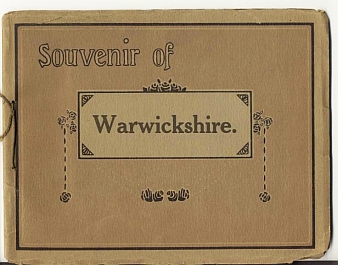 WARWICKSHIRE - Souvenir of Warwickshire.