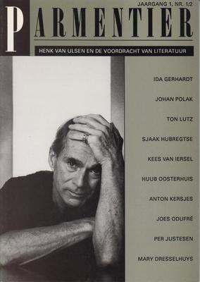 (ULSEN, HENK VAN). PARMENTIER - Henk van Ulsen en de voordracht van literatuur.