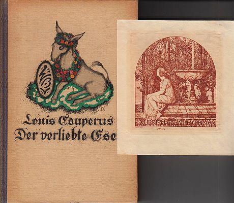 COUPERUS, LOUIS - Der verliebte Esel. Einzig berechtigte Übertragung von Else Otten.