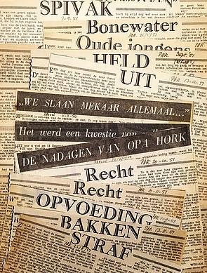 WITTKAMPF, WILLEM - Krantenknipsels (1950-1951).