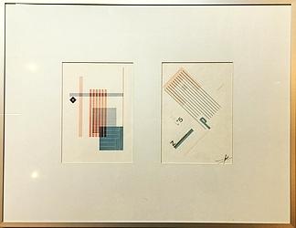 ZWART, PIET - Twee vrije typografische composities.
