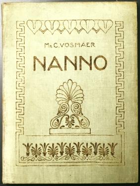 VOSMAER, MR. C. - Nanno. Eene Grieksche idylle.
