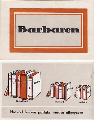 WERELDOORLOG I - Barbaren.