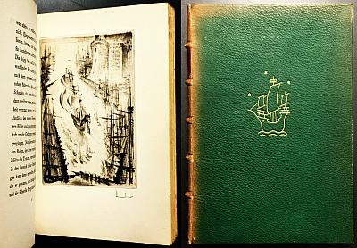 WASSERMANN, JAKOB - Geronimo de Aguilar. (Geïllustreerde luxe-editie in heelleer).
