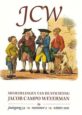WEYERMAN, STICHTING JACOB CAMPO - Mededelingen van de Stichting Jacob Campo Weyerman. Juli 1979-november 1982; 1983-1984; 1995-winter 2012. Ca. 50 afleveringen.