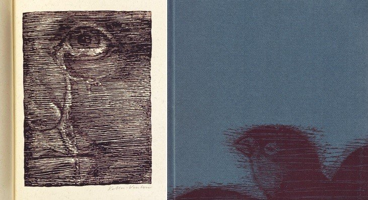 WILDE, OSCAR - Der glückliche Prinz. 29. Band in der Reihe der Basler Drucke. (Met 12 originele houtsneden van Edwin Keller-Venton. Luxe-exemplaar).